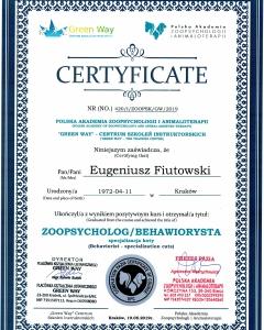 certyfikat-BEHAWIORYSTA