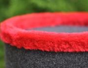 gora drapaka z czerwonym miskiem