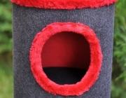 gora drapaka z czerwonym wykonczeniem