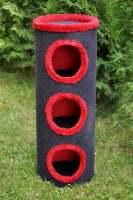 31. drapak ciemno szary z czerwonym wykonczeniem