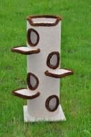 42. drapak 120 cm z polkami